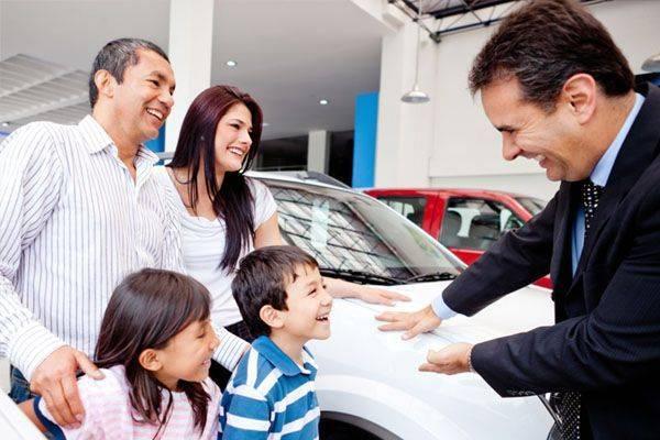письменный договор купли-продажи автомобиля
