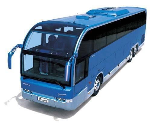 технический осмотр автобуса