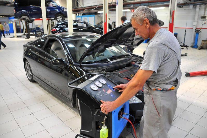 технический осмотр автомобиля 2015