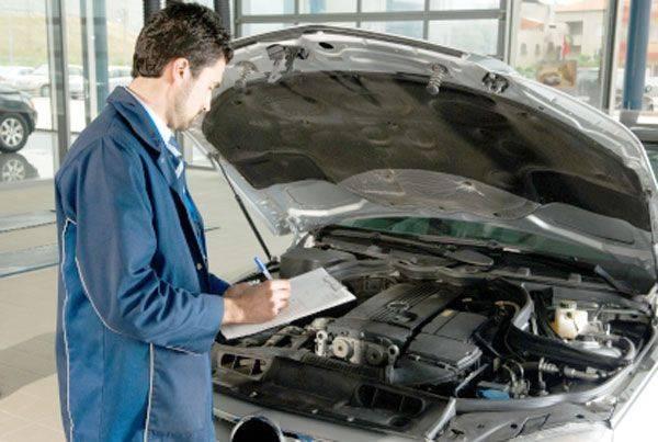 технический осмотр легковых автомобилей